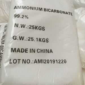 AMMONIUM BICARBONATE – NH4HCO3